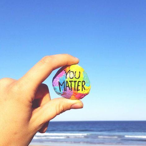 you matter stone
