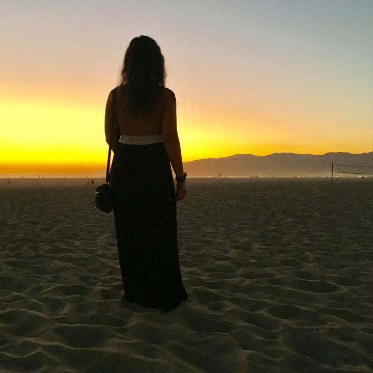 lisy sunset - santa monica 2017