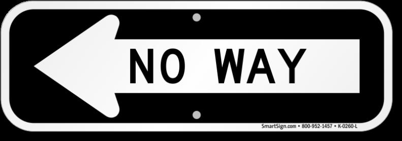 no-way-arrow-sign-k-0260-l