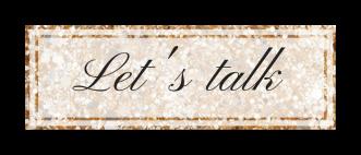 Button Let's Talk